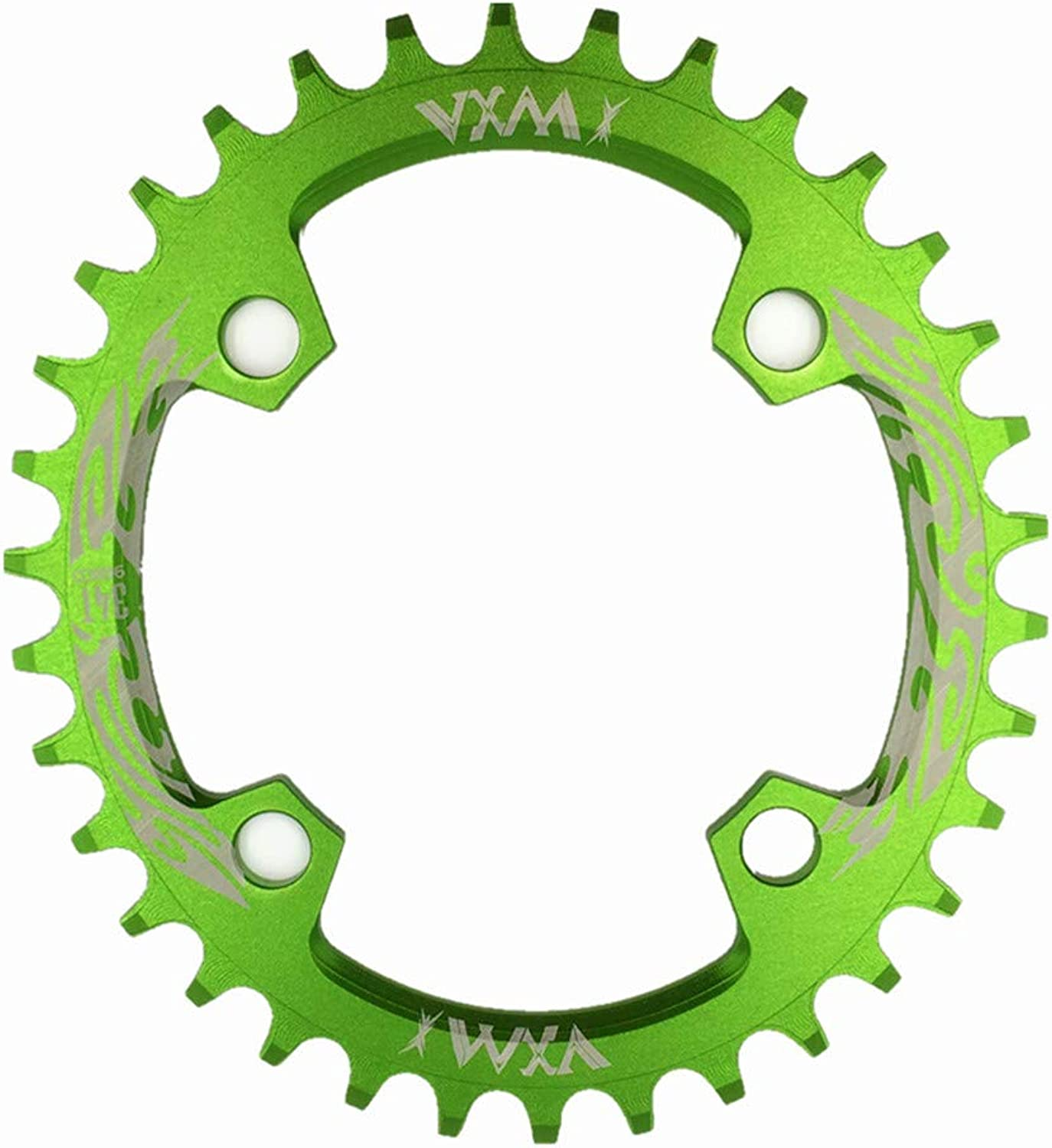 YYIN Speed Bicycle Chainring,BCD 96MM Chainring MTB Bike Narrow Wide Round Oval Single Chain Ring Bike Disc Brake