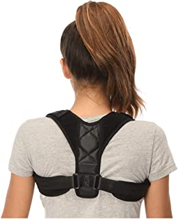 Posture Corrector for Men and Women Adjustable Clavicle Brace to Correct Bad Posture Prevent Slouching Relieves Neck, Back...