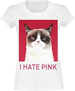 Grumpy Cat Grumpy Cat Liegend  Frauen Trainingshose grau meliert