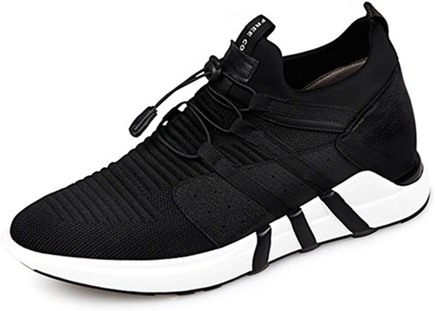 GOG Men's Height Increasing Elevator shoes Light Weight Casual Sport shoes 2.36 inches Taller