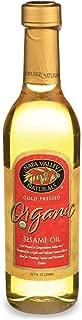 Napa Valley Naturals Oil Sesame Cold Pressed, 12.7 oz
