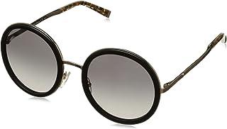 نظارة شمسية MM Classy IV EU MDC 54 للنساء من ماكس مارا، بلون اسود ووردي ذهبي/رمادي اس اف