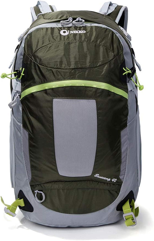 LXFMD Schulter-Bergsteigenbeutel der groen Kapazitt 40L im Freien, der groen Rucksack wandert