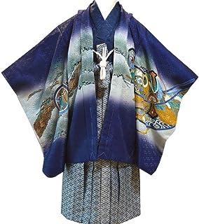 HESAKA[ヘサカ] 七五三 男の子 5歳 紋付 袴 トータル 13点 フルセット 10タイプ/