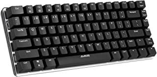 comprar comparacion Docooler AJAZZ AK33 Mechanical Gaming Keyboard E-Sport Keyboard 82 Teclas USB Wired Blue Switches Anti-Ghosting para PC Po...