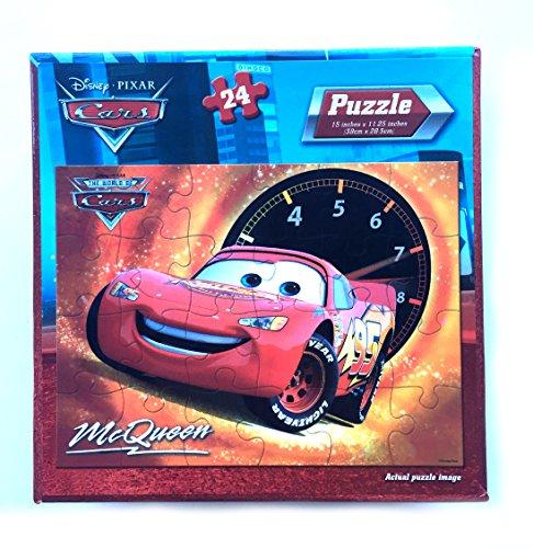 Disney Pixar Cars 24 Piece Puzzle - Lightning McQueen & Tachometer