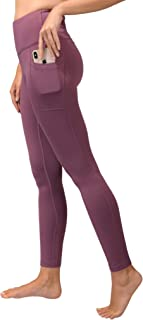 90 Degree By Reflex High Waist Fleece Lined Leggings -...