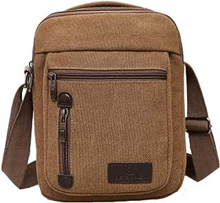 Vohoney Herren-Schultertaschen Umhängetasche Herrentasche Klein Crossbody Bag Handtasche Tasche Umhängen Messenger Bag Han...
