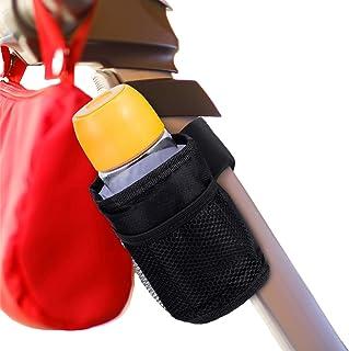 2 Piezas Portavasos para Cochecito de Bebé Portavasos con Aislamiento Universal Portavasos de Bicicleta Bolsa de Almacenamiento de Teléfono y Llave Resistente al Agua y al Goteo para Cochecito