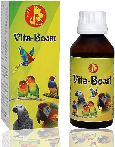 Pet Care International (PCI) Vita-Boost to Provide Essential Vitamins for Healthy Bird Healthcare (100ml)