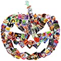 100 PCS Halloween Stickers Pack - Halloween Decorations Gift for Party Kids Children Girls Friends Teens Toddlers Windows Bottles