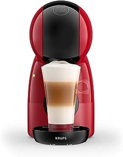 Krups Nescafé Dolce Gusto Piccolo XSrouge, Machine à café ultra compact, Cafetière à dosette,Multi-boissons, Intuitive, ...
