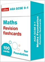 Collins GCSE 9-1 Revision – New AQA GCSE 9-1 Maths Foundation Revision Flashcards