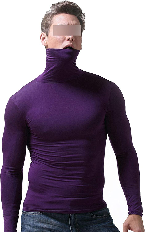 New Men's Long Men Winter Underwear Men Thermo Underwear Winter Thermal Underwear,Purple,L