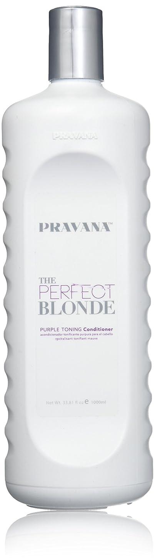 露骨なホット組み合わせるPravana The Perfect Blonde Purple Toning Conditioner 33.8 fl oz