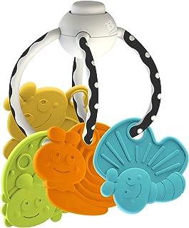 Phoque Jongleur Sonore et Lumineux 4 balles empilables Multicolore Infantino