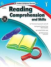 Carson-Dellosa Kelley Wingate Series Reading Comprehension and Skills Book - Common Core Edition, Grade 1, Ages 6 - 7