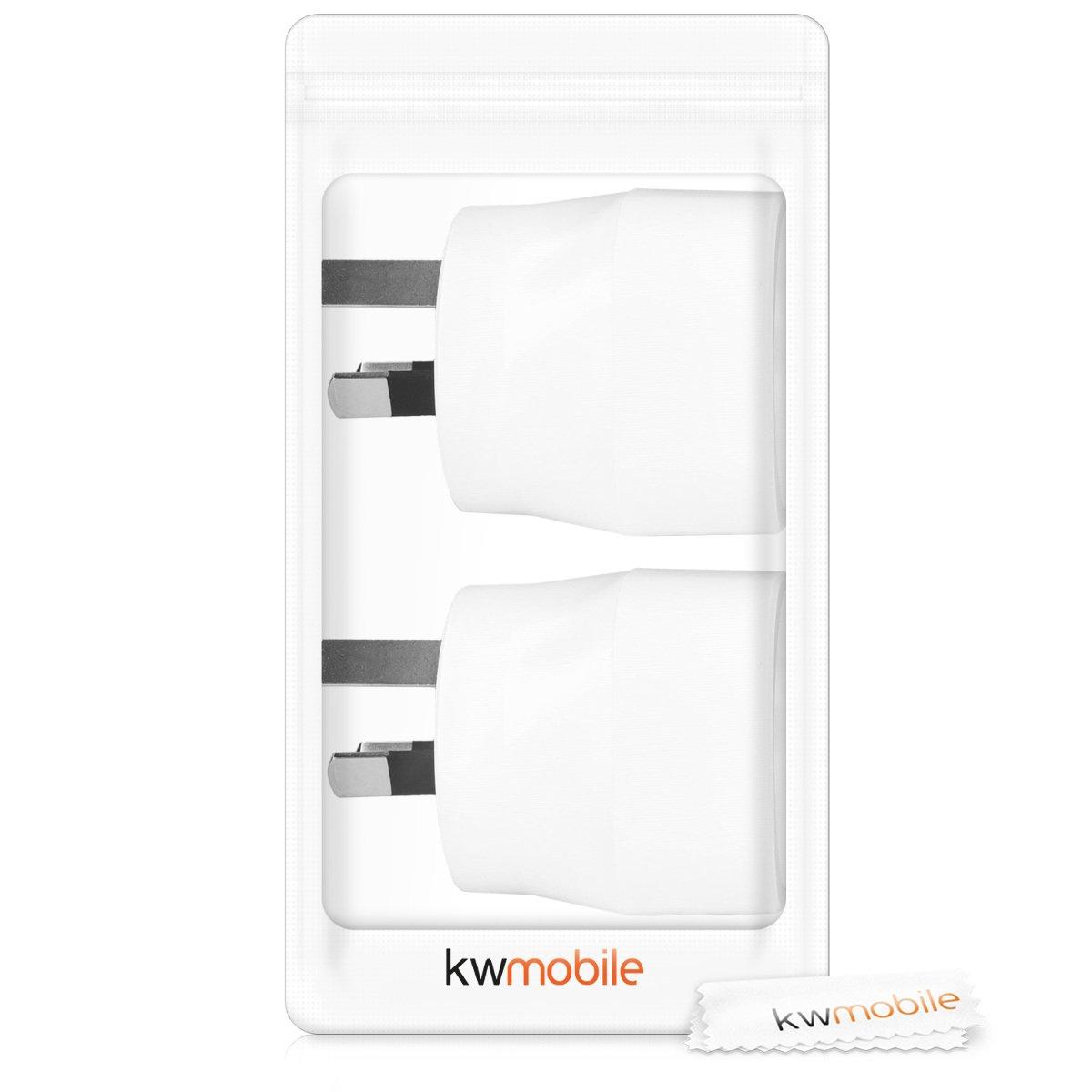 kwmobile 2X Adaptador de Viaje para Australia Tipo I: Amazon.es: Electrónica