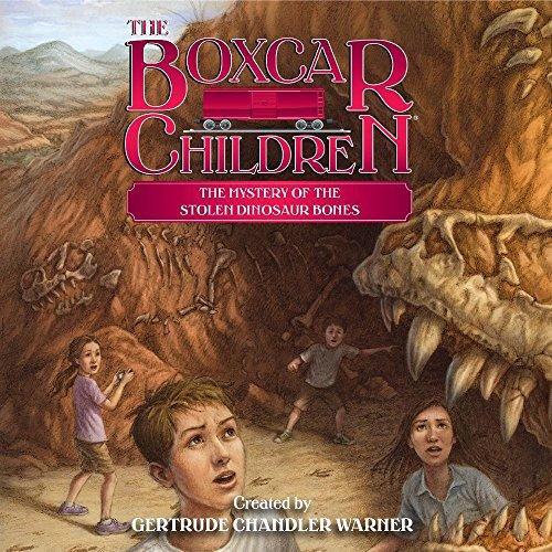 The Mystery of the Stolen Dinosaur Bones Audiobook By Gertrude Chandler Warner cover art