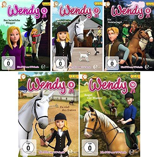 Wendy - DVD zur Zeichentrick TV-Serie (6-10) im Set - Deutsche Originalware [5 DVDs]