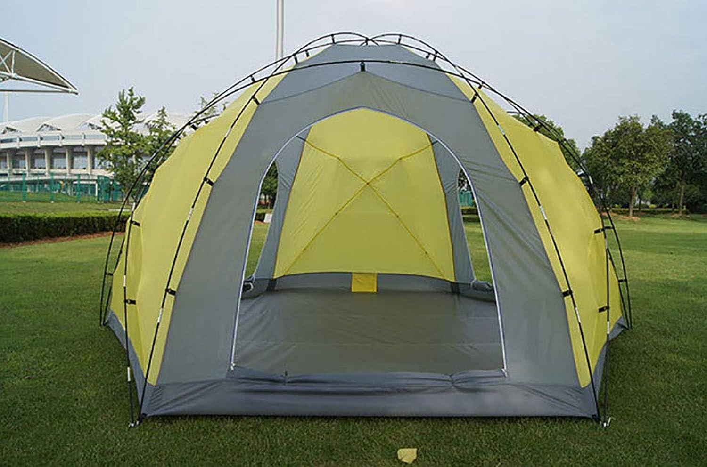 XBR Groes Campingzelt Indisches Spacious UV Protection Wohnzimmer im Freien Spitzdach Jurtenzelt 8-10 Personen Camping Wandern Windproof Wasserproof Regensicher Zelte