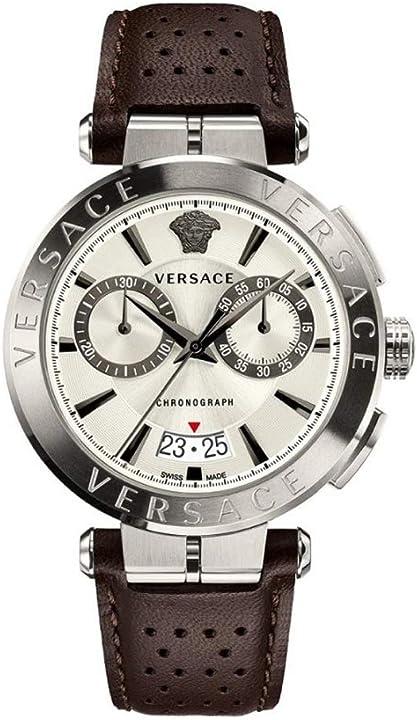 Orologio versace ve1d00119 aion herrenuhr chronograph