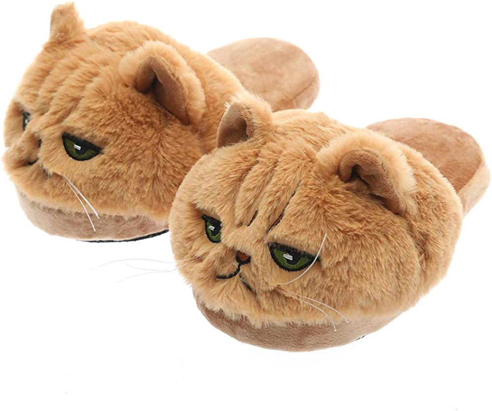 Millffy Unisex Kids Girls Max 85% OFF 3D Big Kitty Head Opening large release sale Cat Womens Realistic