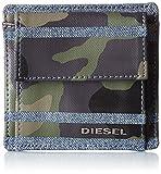 Diesel Striple Tytano - Denim/Leather Carteras - Hombres