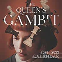 The Queen's Gambit Calendar 2021-2022: Great 18-month Mini Calendar 2021-2022 (size 7x7 inches) for All Fans