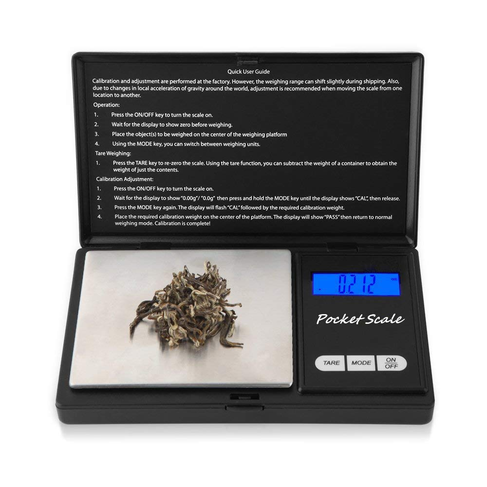 WOWOHE Max 84% OFF Digital Pocket Scales Gram 500g Lab Capacity Analytical S Popularity