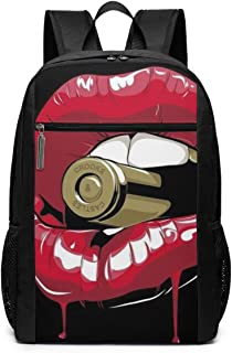 Red Mouse Crooks Castles Backpack 17 Inch Laptop Bags School Bookbag