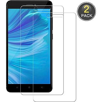 POOPHUNS Cristal Templado Xiaomi Redmi Note 4/Note 4X, 2-Unidades ...