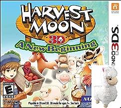 Harvest Moon a New Beginning 3DS with BONUS Plush Alpaca