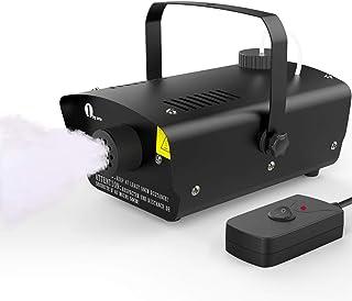 [2020 Upgraded] 1byone Halloween Fog Machine with Wired Remote Control, 400-Watt Smoke..