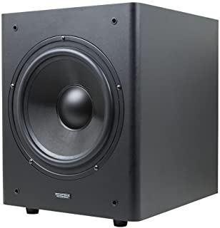 Monoprice Stage Right 10-Inch Powered Studio Multimedia Subwoofer - (605999) Black