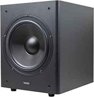 Monoprice Stage Right 10-Inch Powered Studio Multimedia Subwoofer - (605999)