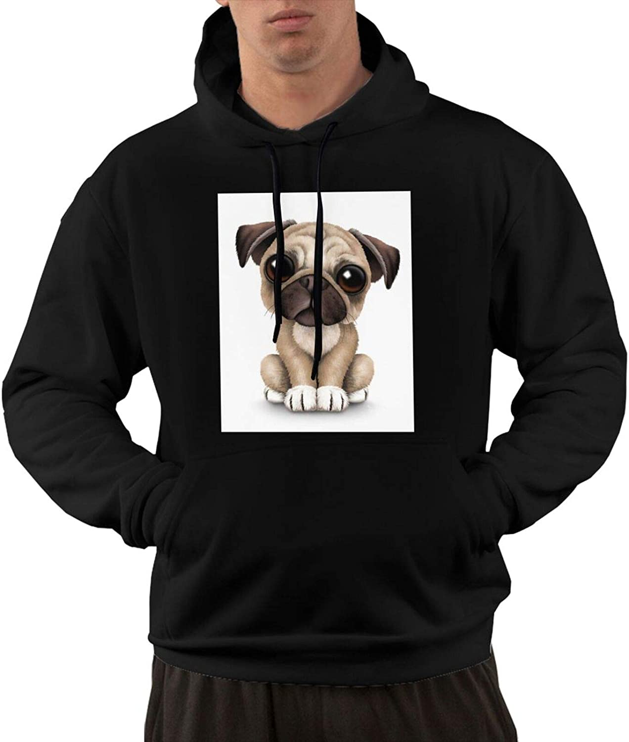 Cute Puppy Dog Sales for sale With Big Eyes Hooded Men'S Funny Award-winning store And Sweat Pocket