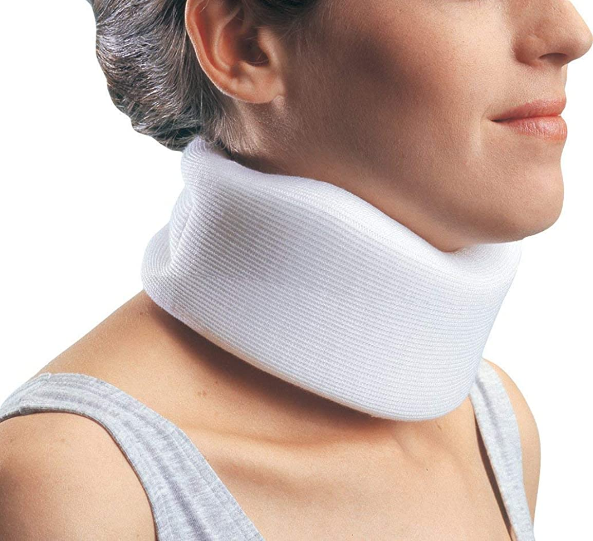 難しい意図動的Fairmall ソフト 頸椎カラー 首サポーター コルセット 首こり 解消 むち打ち 首をしっかり固定 頸椎保護 寝違い クッション性が高い 手洗い可能 男女兼用 -フリーサイズ