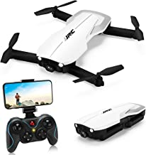 $99 » Drones with 1080P Camera for Adults,JJRC H71 Rc Foldable Drone with Optical Flow Positioning, WiFi FPV Live Video Quadcopter for Beginners,22mins Flight Time Indoor Drone For Kids-Altitude Hold(White)