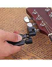 Alomejor Guitar String Winder Cutter y Bridge Pin Puller 3 en 1 Herramienta de reparación de Guitarra Funcional Muti para bajo de Guitarra