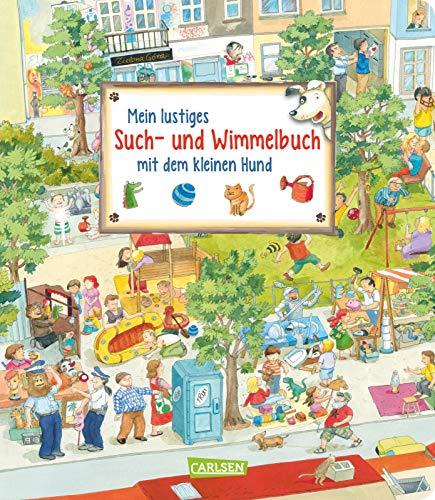 Mein lustiges Such- und Wimmelbuch mit dem kleinen Hund: Tierischer Wimmelbilderspaß ab 2 Jahren
