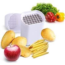 TUZECH Natural Veggie Slicer For Potato Chips Strip Cutting Cutter