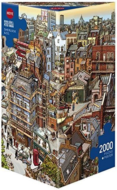 compra en línea hoy Heye Sherlock & Co 2000 Piece Piece Piece Jigsaw Puzzle by Heye  buen precio