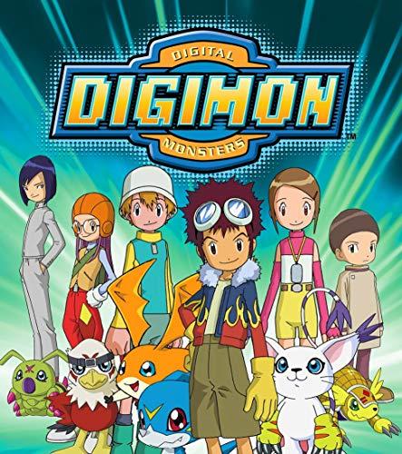 JUNLIZHU Digimon Adventure Bokura no War Game (60cm x 68cm | 24inch x 27inch) Silk Print Poster Silk Printing / 8670AE