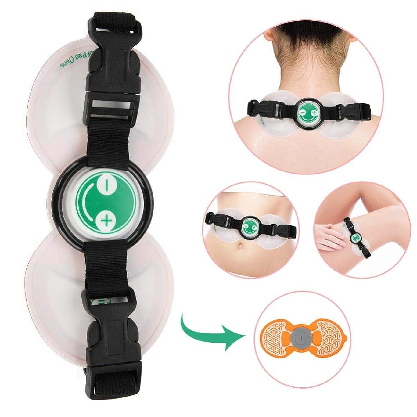 ヘッドレス合意スペードミニマッサージ、多機能EMSコードレス電動マッサージ、筋肉痛緩和、ネックアームマッサージ