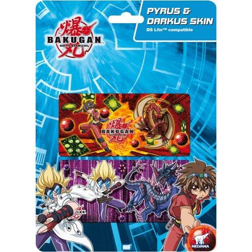Unbekannt Bakugan awg80829–AWG Pyrus & darkus–DS Lite Skin