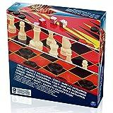 Spin Master SPINMASTER 6033211Wert Schach/Checkers und Backgammon-Set -