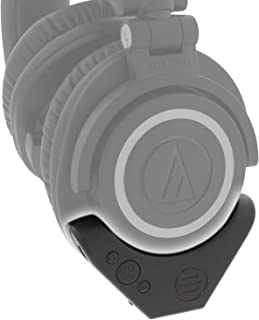 East Brooklyn Labs Bluetooth Wireless Adapter Amplifier for Audio Technica ATH M50x Professional Studio Headphones