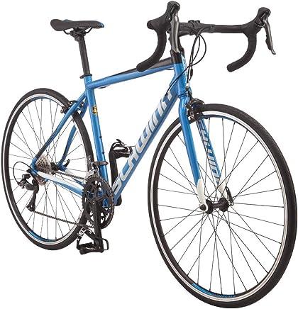Schwinn Fastback AL Claris 700C Bicicleta de Carretera de Rendimiento, 50 cm/Marco Mediano pequeño, Azul