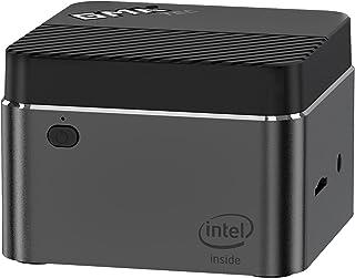 GMK ミニPC 、IntelJ4125を搭載したNucBoxWindows 10 Mini Computer、Micro PC 8GB DDR4 RAM 128GB SSD、HDMIポートによる4K HD、デュアルバンドWi-Fi、Bluet...
